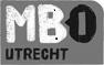 Logo MBO Utrecht zwartwit